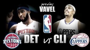 Previa Pistons - Clippers: la victoria es el camino