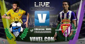 Alcorcón - Real Valladolid en directo online