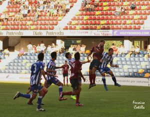 Pontevedra CF - X. Sanxenxo: asalto al liderato