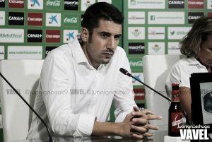 """Julio Velázquez: """"Tenemos que intentar conseguir la victoria y que el equipo demuestre lo que es"""""""