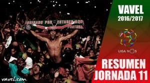 Resumen Jornada 11 Liga NOS: Benfica abre distancia y continúa líder