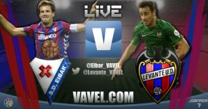 Eibar vs Levante en vivo y en directo online
