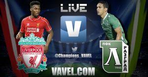 Liverpool vs Ludogorets, Champions League en vivo y en directo online