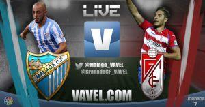 Málaga vs Granada en vivo y en directo online