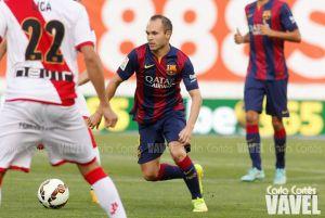 Andrés Iniesta, disponible para Mestalla
