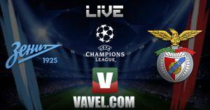 Zenit vs Benfica en vivo y en directo online