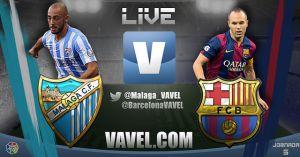 Málaga vs Barcelona en vivo y directo online