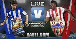 Real Sociedad vs Almería en vivo y en directo online