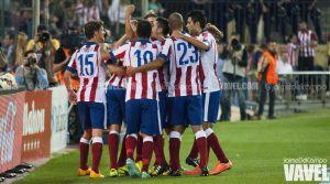 El Atlético de Madrid busca el pleno