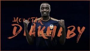 """Diakhaby: """"Estoy muy orgulloso de poder defender el escudo del Valencia CF"""""""