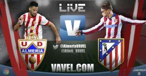 Almería vs Atlético de Madrid en vivo y en directo online
