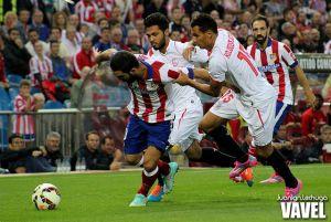 El Atlético pasa por encima del Sevilla