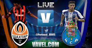 Shakthar Donetsk vs Oporto, Champions League en vivo y en directo online