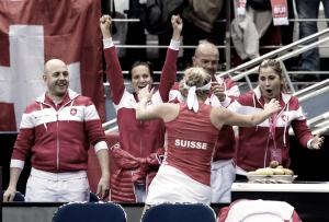 Fed Cup: Semis começam empatadas em Bielorrússia x Suíça e Rep. Tcheca x EUA