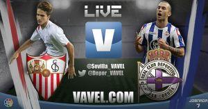 Sevilla vs Deportivo de la Coruña en vivo y en directo online