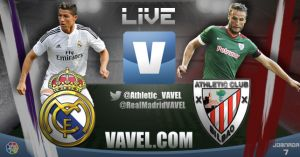 Real Madrid vs Athletic de Bilbao en vivo online