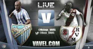 Resultado partido Málaga vs Rayo Vallecano en vivo y en directo online
