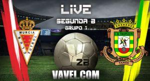 Real Murcia - Tropezón en directo online
