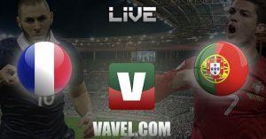 Francia vs Portugal en vivo y en directo online