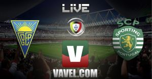Resultado Estoril vs Sporting en la Liga Portuguesa 2015 (1-1)