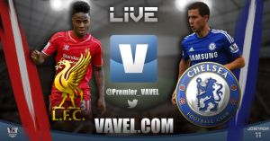 Liverpool vs Chelsea Live Score of 2014 EPL Results