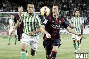 El Real Betis logra una agónica victoria gracias a la efectividad de Rubén Castro