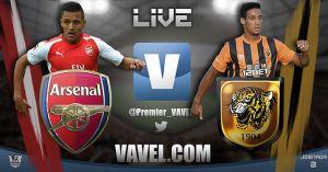 Partido Arsenal vs Hull City en vivo y en directo online