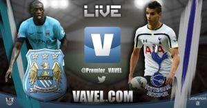 Manchester City v Tottenham Hotspur Live of 2014 EPL