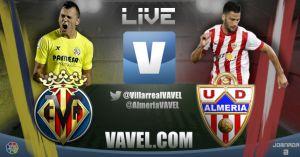 Villarreal vs Almería en vivo y en directo online