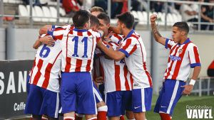 El Atlético B cura sus heridas a costa de un inofensivo Rayo B