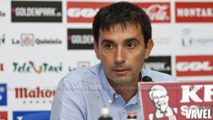 """Asier Garitano: """"No podemos conformarnos con ir al Villamarín, tenemos que competir"""""""