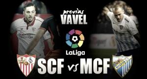 Previa Sevilla FC - Málaga CF: derbi de más de tres puntos