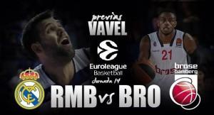 Real Madrid de Baloncesto - Brose Bamberg: Evitar cualquier susto inesperado