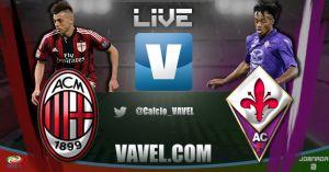 Partido Milán vs Fiorentina en vivo y en directo