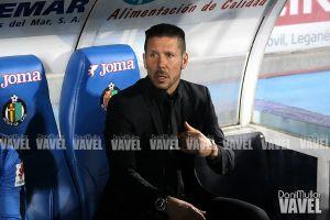 "Simeone: ""Parece que está mal marcar goles de estrategia"""