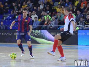 Aspil-Vidal Ribera Navarra FS - FC Barcelona: duro examen para ambos conjuntos