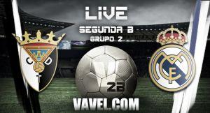 Tudelano - Real Madrid Castilla en directo online