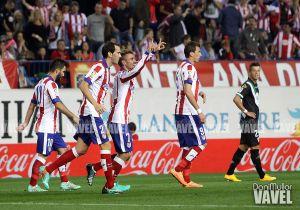 El Atlético de Madrid maneja las primeras partes