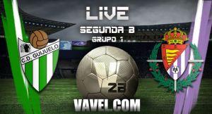 CD Guijuelo - Real Valladolid Promesas en directo online