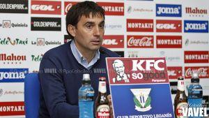 """Asier Garitano: """"Necesitamos cortar las dos derrotas en Butarque"""""""