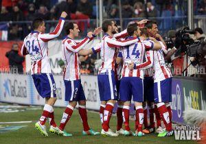 El Atlético de Madrid cumple el trámite liguero