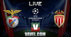 Resultado Benfica vs Mónaco en vivo y directo online