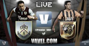 Burnley vs Hull City, Premier League en vivo y en directo online