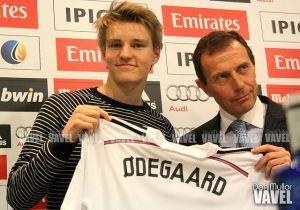 Ødegaard podría debutar mañana con el Castilla