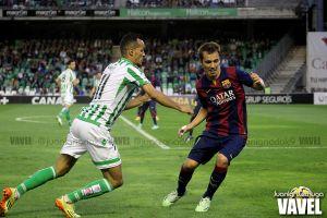 Antecedentes entre FC Barcelona B y Real Betis