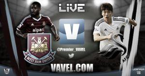West Ham United vs Swansea City en vivo y en directo online