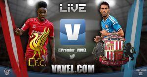 Liverpool vs Sunderland en vivo y en directo online