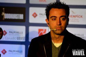 """Xavi Hernández: """"Mi idea es colgar las botas en el Barcelona"""""""
