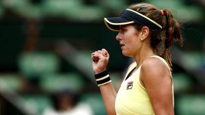 Julia Goerges Upsets Caroline Wozniacki in Straight Sets