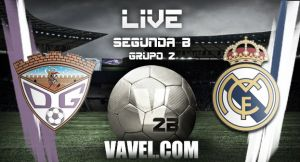 Guadalajara - Real Madrid Castilla en directo online